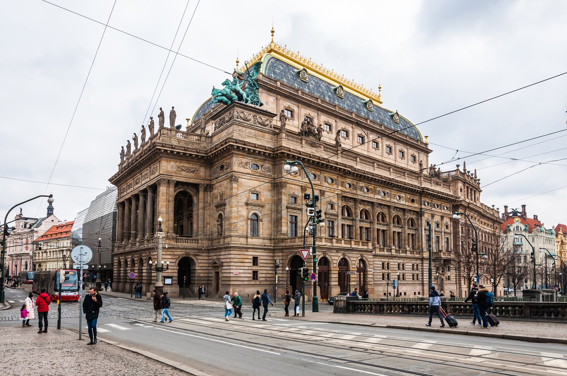 The National Theatre in Prague