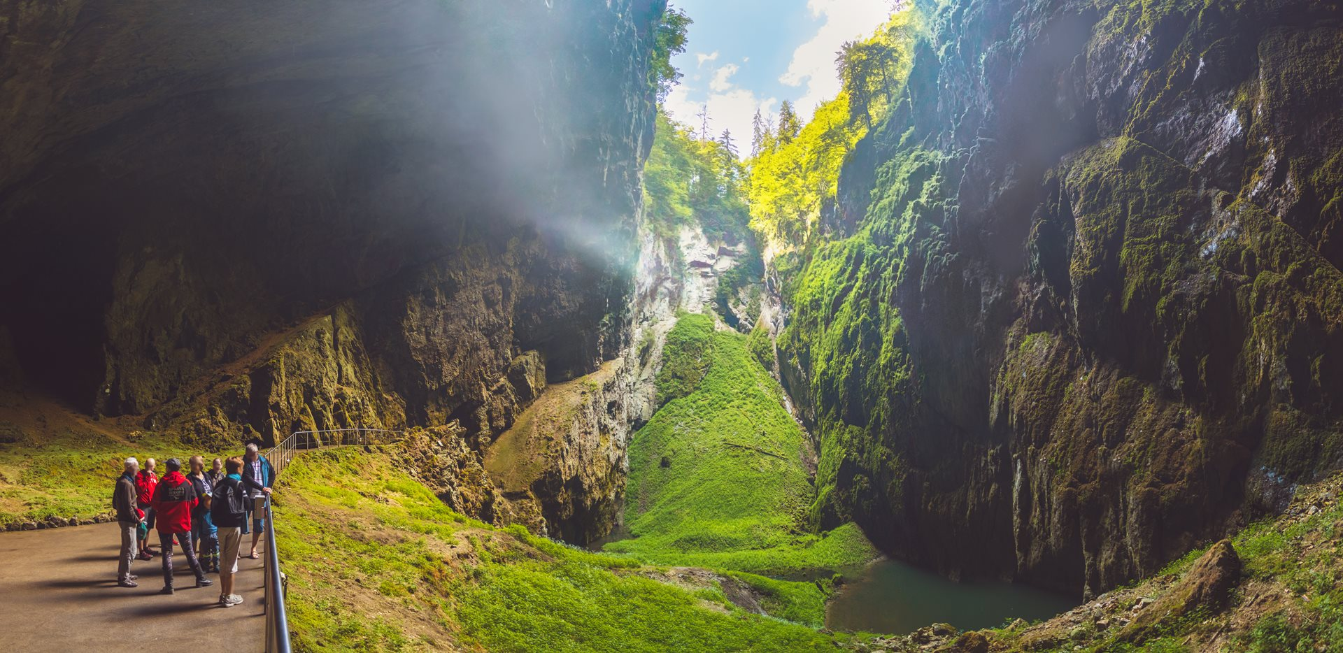 Discovering Punkva Caves and Macocha Abyss in Moravia, Czech Republic
