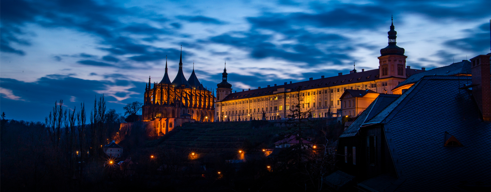 Visit a chapel of bones and UNESCO Cathedral on an architectural tour of Kutna Hora