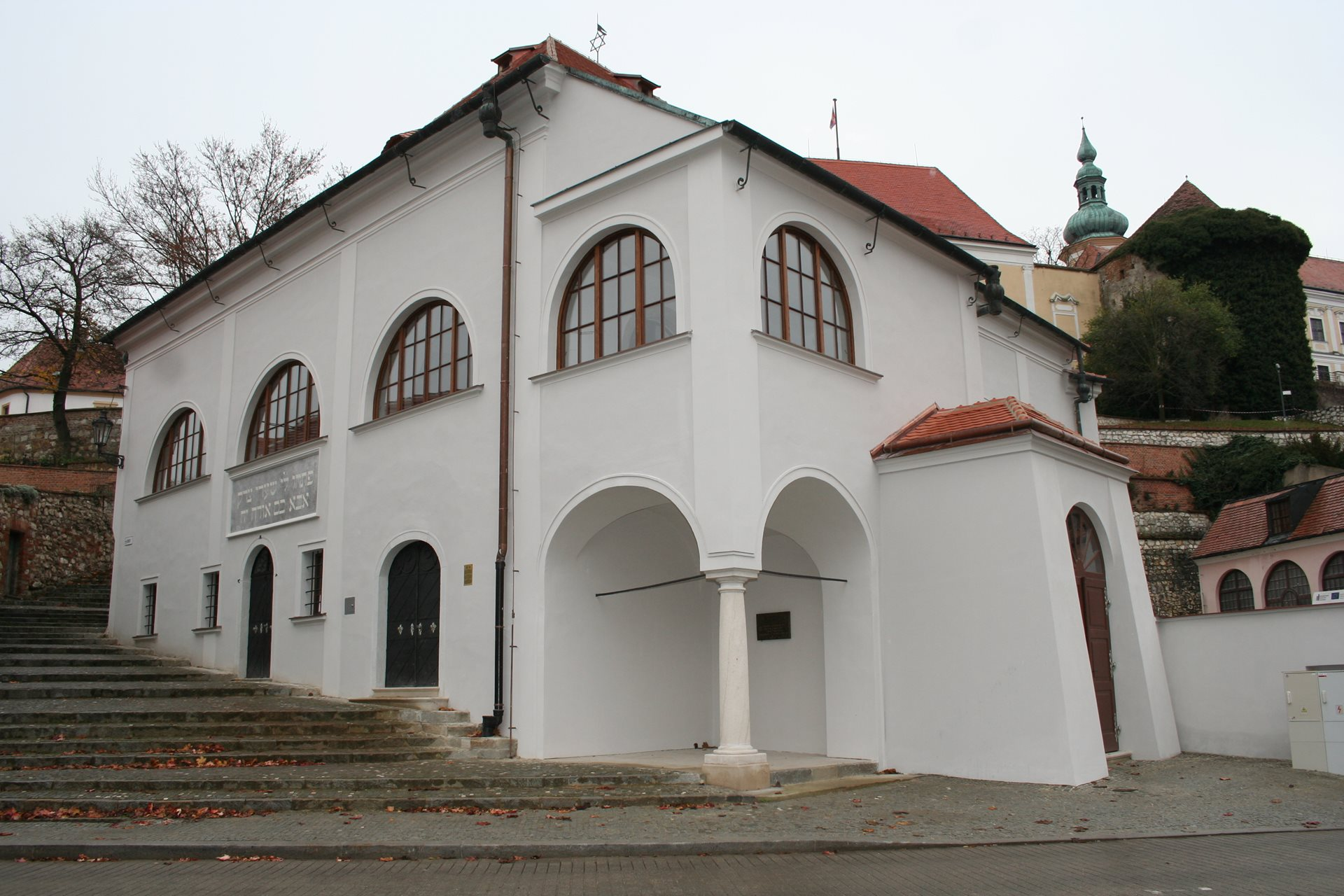 The Upper Synagogue in Mikulov
