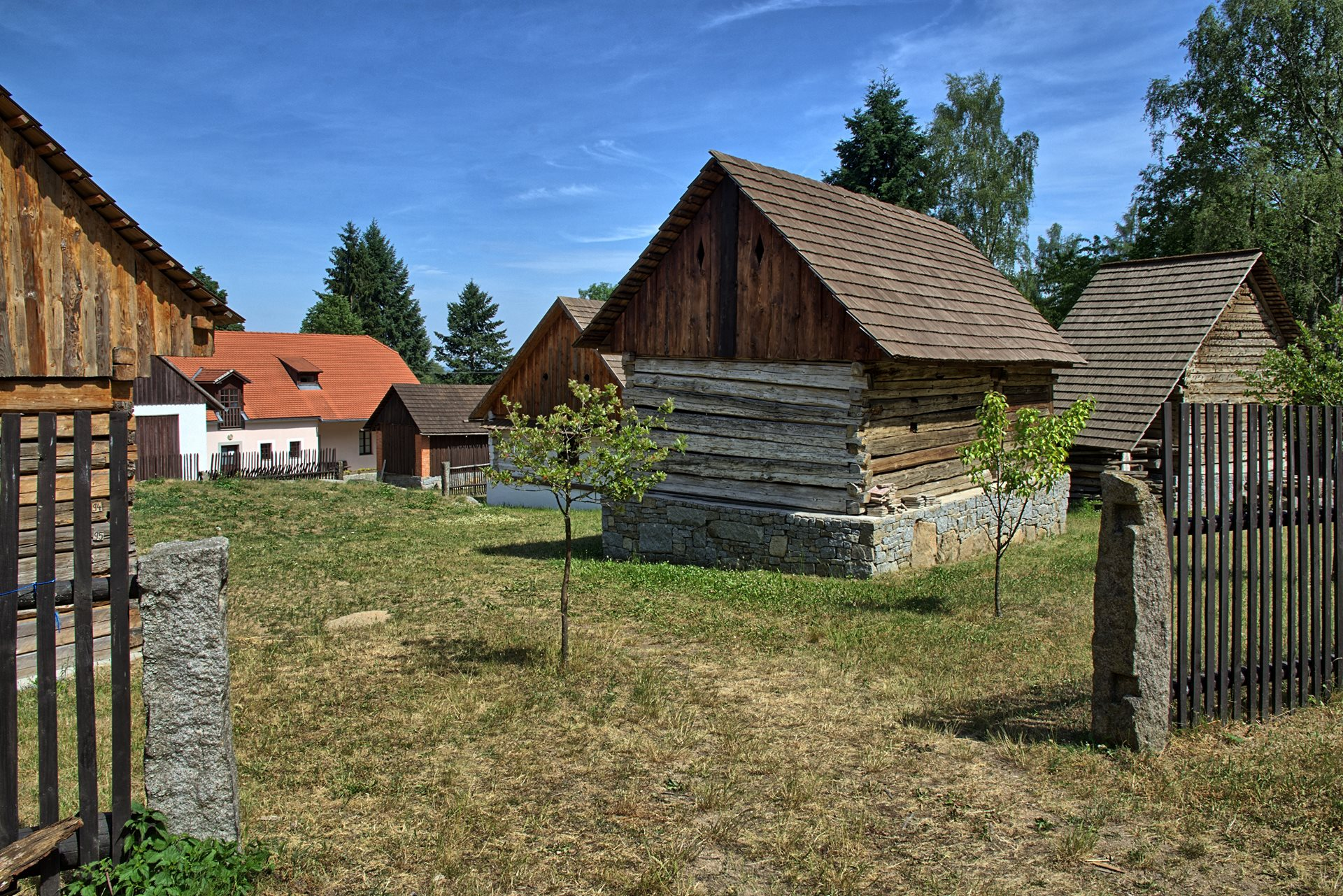 Chanovice open-air museum – folk architecture exhibition