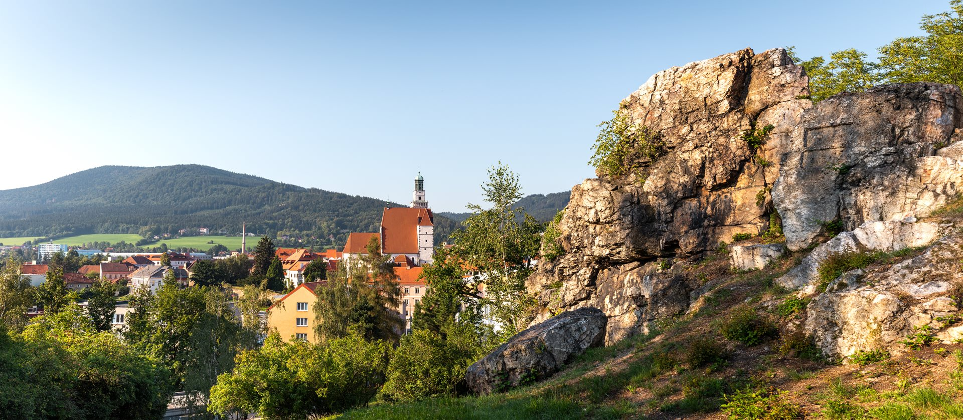 Historic town of Prachatice