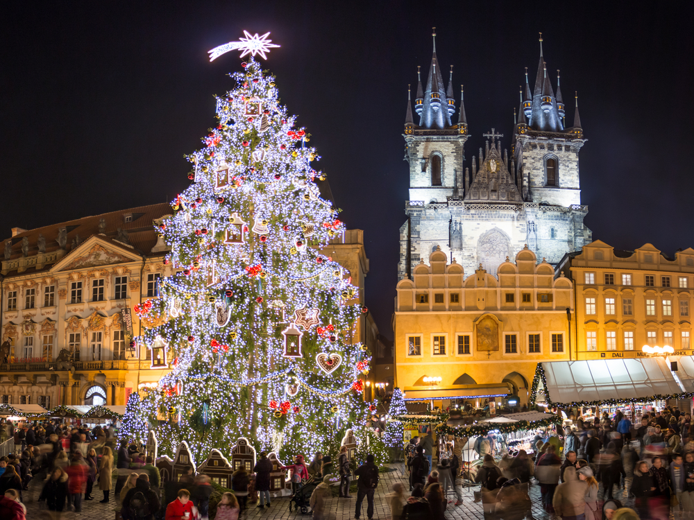 Prag in der Adventszeit