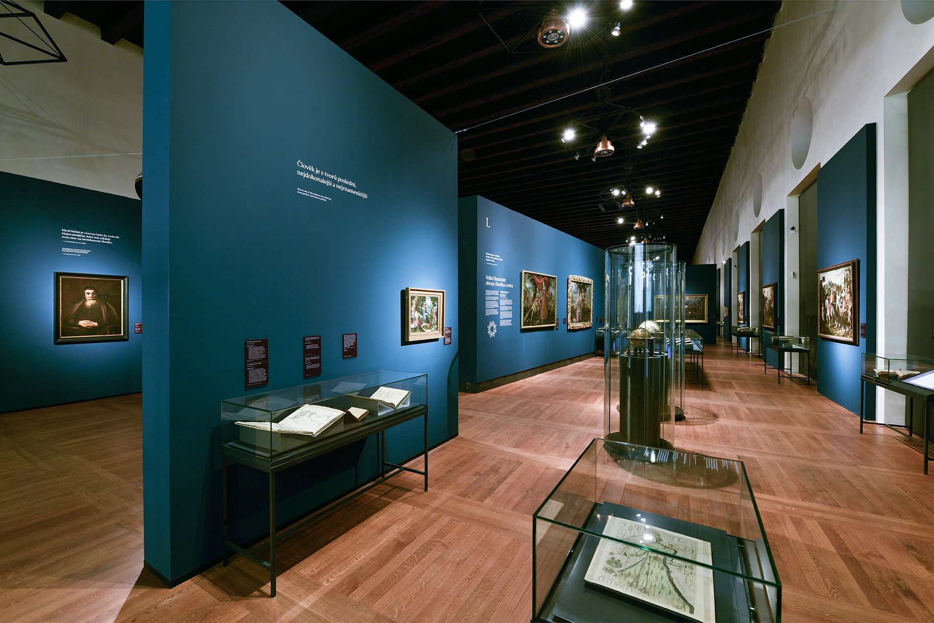 Exhibition Comenius 1592—1670 in Prague Castle
