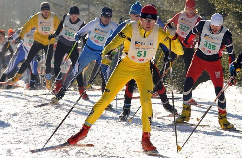 The Jizerská 50 ski race