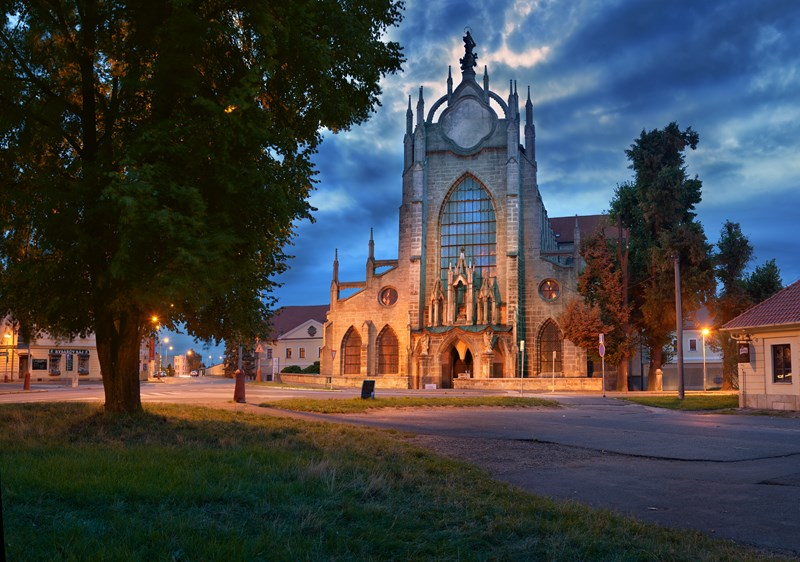 Church of the Assumption of the Virgin Mary and St. John the Baptist in Kutná Hora