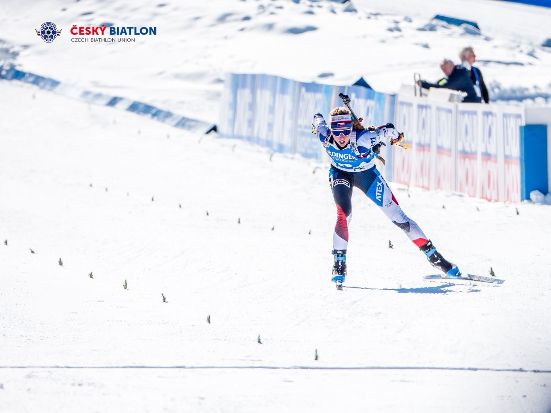 New Golden Czech biathlon star from the beautiful mountains