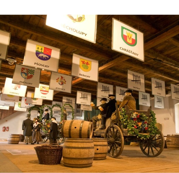 Temple of hop and beer in Žatec