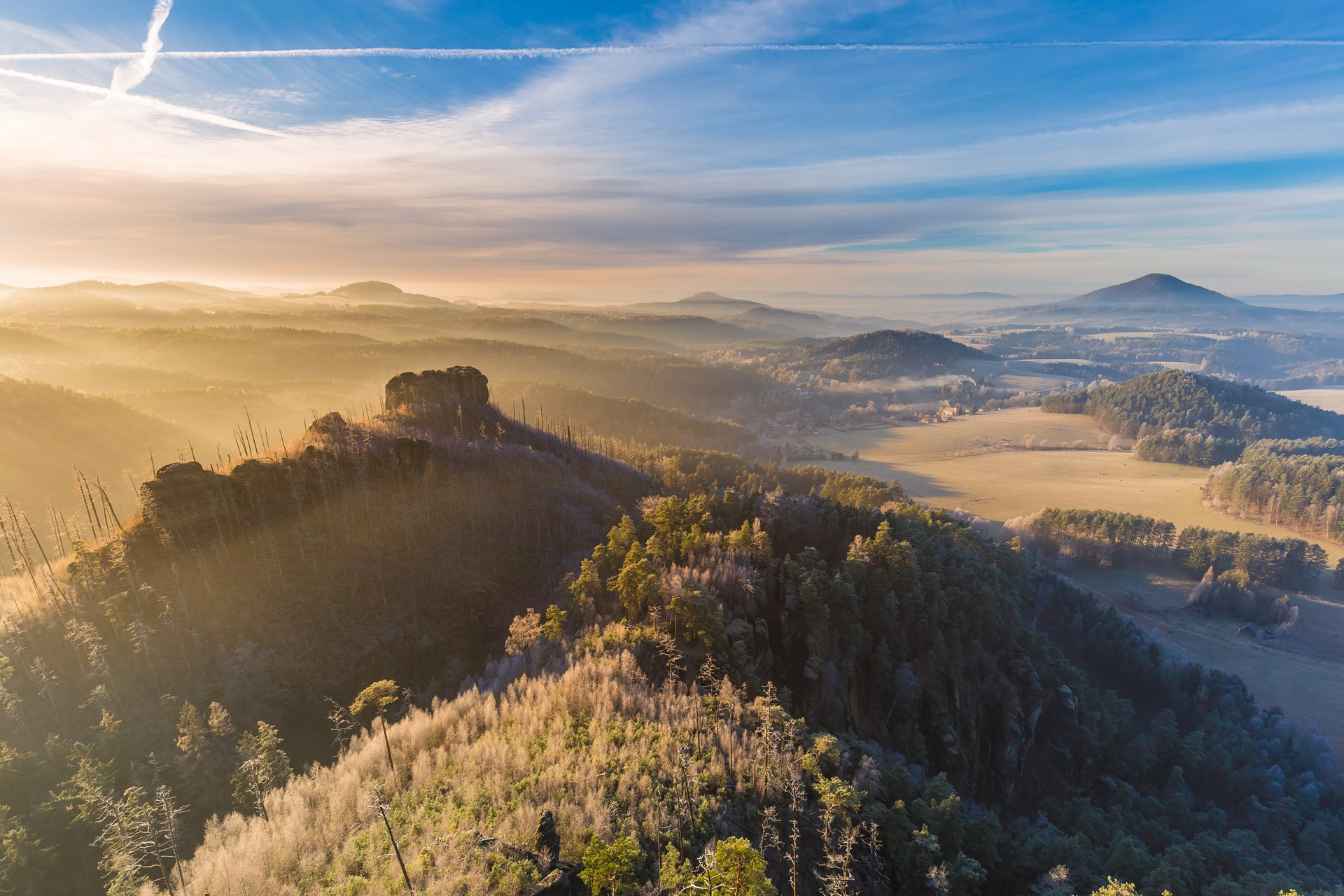 Winter in Bohemian Switzerland